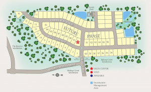 King's Glen Site Map