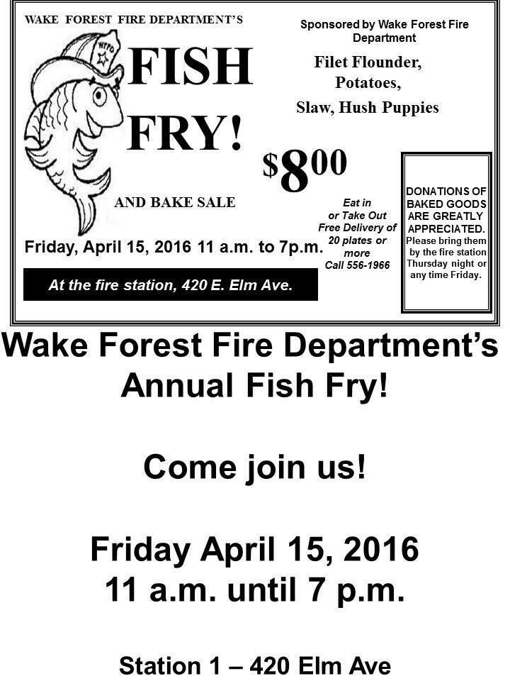 fish fry wake forest 2016
